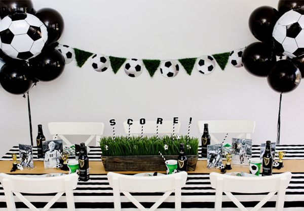 Soccer Theme | 15 FIFA World Cup Party Ideas | diyready.com