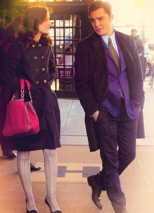 Chuck and Blair from Gossip Girl. Classy couple!/ Karizmatik çift.