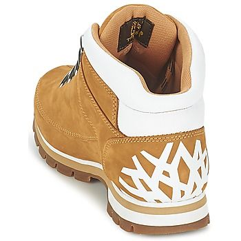 Esta bota para hombre Euro Sprint Hiker diseñada por la marca Timberland tiene mucho estilo. Su color amarillo y su corte en piel la convierten en el modelo indispensable. Entre sus características, encontramos una suela de caucho. ¡Indispensable! - Color : Trigo / Nubuck - Zapatos Hombre 155,00 €