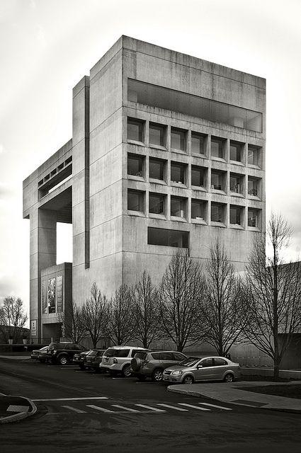 The Herbert F. Johnson Museum of Art at Cornell University        I.M. Pei and John L. Sullivan III, 1973