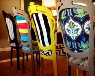 Easy DIY: Refresh Your Furniture with Paint: Mixed Chairs