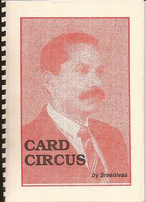 Card circus playing card magic #tricks book #sreenivas sam dalal #routines pass ,  View more on the LINK: http://www.zeppy.io/product/gb/2/161443560682/