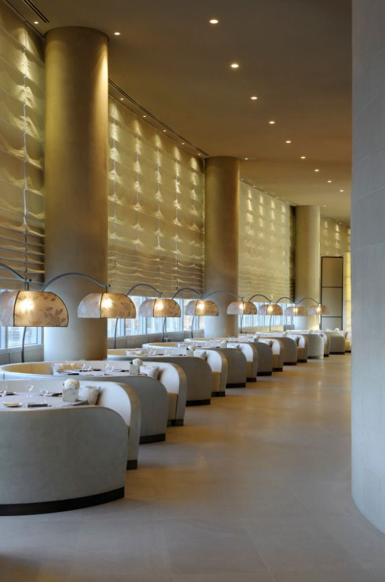 Armani restaurant in Dubai. (Wine would taste so AWESOME here)