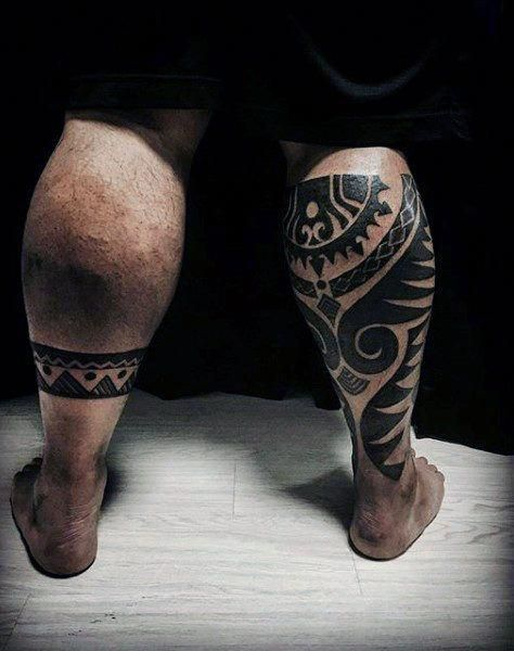 back of leg maori themed tattoos for guys maoritattoos maori