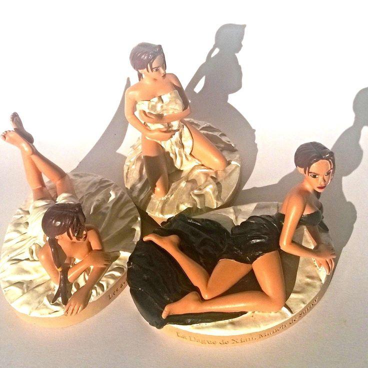 Lara Croft Tomb Raider Legend Collectible Resin Figure n° 20 24 26 Lot Sexy Nude | eBay