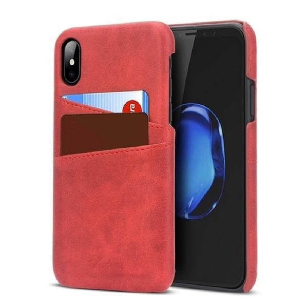 Coque porte carte de crédit slim en cuir pour iPhone 8   Iphone ...