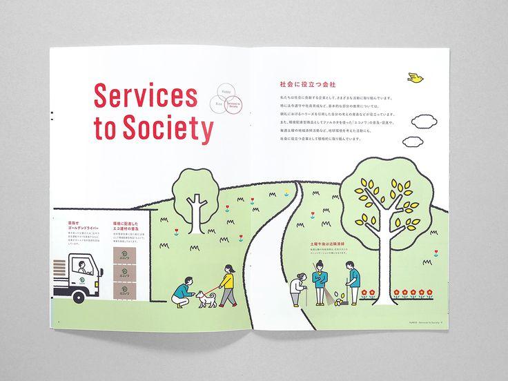 Shimada Co.,Ltd. / Brochure on Behance