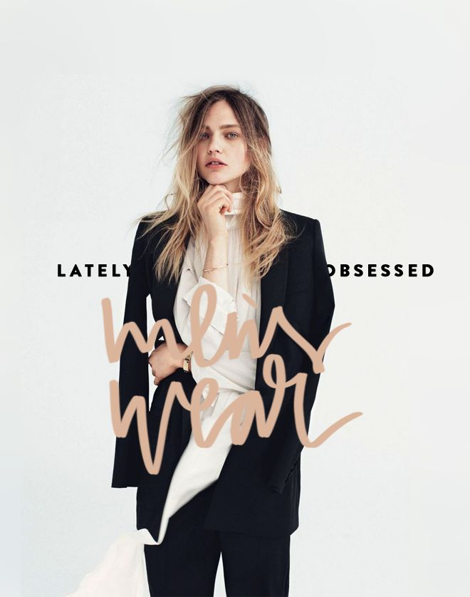 Cocorrina: LATELY OBSESSED: MEN'S WEAR