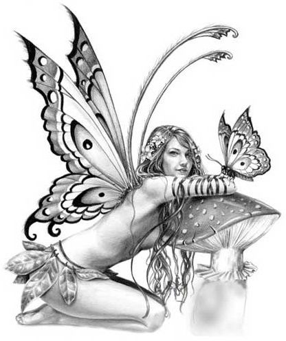 fairy..tattoo idea