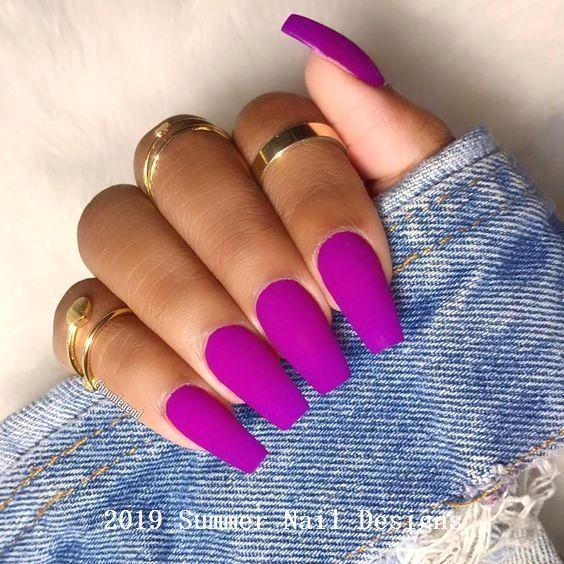 """💅Inspiraties van """"Nail Art"""" en neoneffect manicure en neon kleuren 147 …"""