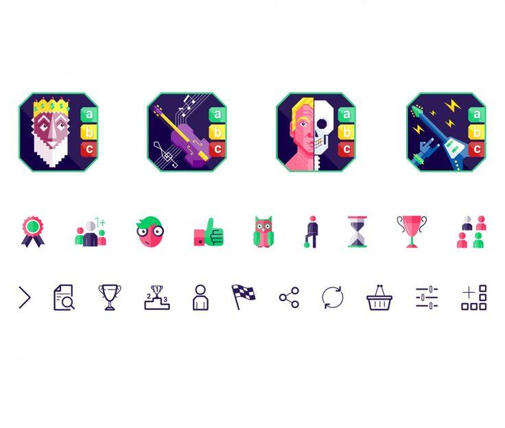 Král kvízů | mobilní aplikace pro Android (kliknutímpřejdetenadalšípoložkugalerie)