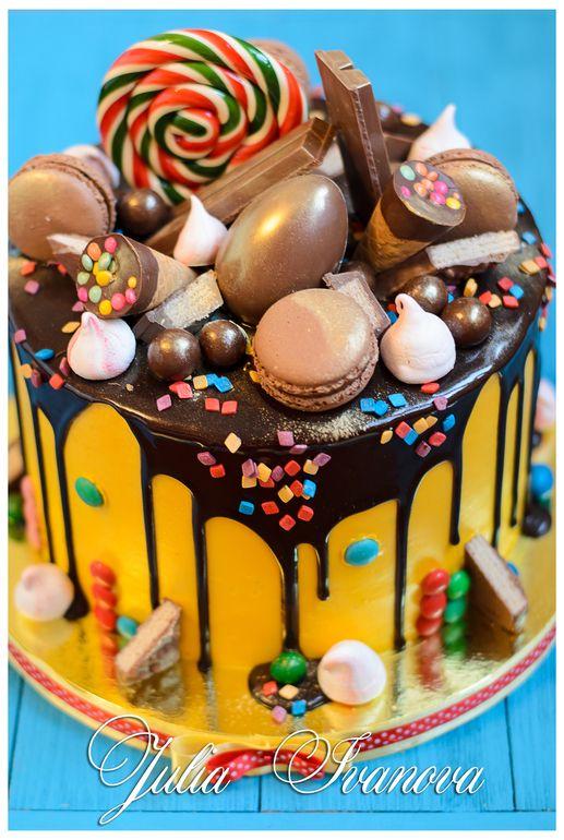 Украшение тортов кремом,шоколадом, фруктами - Сообщество «Кондитерская» - Babyblog.ru - стр. 331