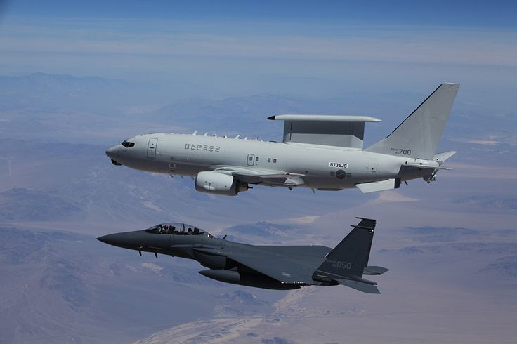 Boeing's F-15E Strike Eagle and 737 Airborne Early Warning and Control