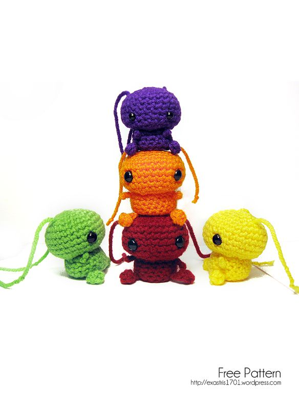 Free Knit Amigurumi Patterns : 2524 best images about Crochet Amigurumi Addict on Pinterest Crochet dragon...