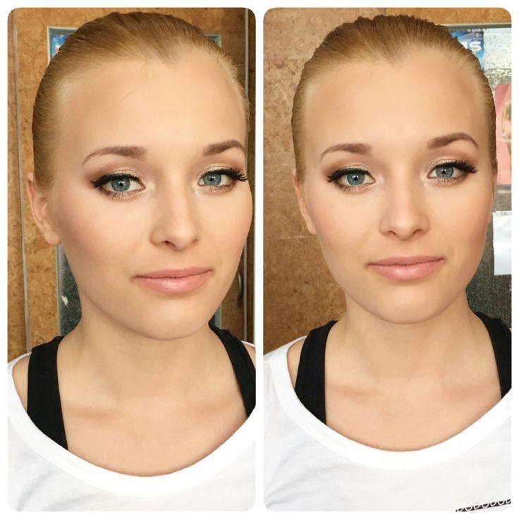 Liceni na maturitní ples :) oční stíny/eyeshadows @makeupgeekcosmetics Afterglow, Mocha, Shimma Shimma; rtenka/ lipstick @makeupgeekcosmetics  Shy #ples #makeupgeek #makeup #makeupartist #vizazistka #praha  #petraholikova #mua www.petraholikova.cz