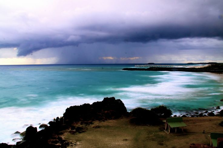 Duranbah Beach. On the Queensland / New South Wales border, Australia.