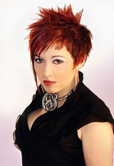 spiky hairstyles for women. Short spiky hairstyles 2014. Short spiky ...