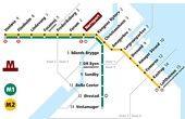 Metro-lines in #Copenhagen