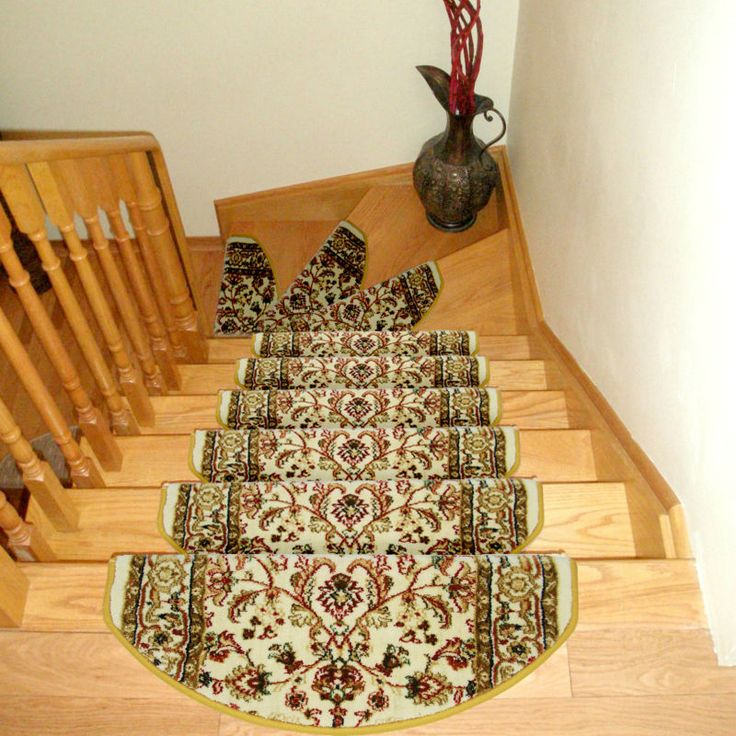 Attractive High Grade Staircase Carpets Non Slip Mats And Rugs For Stairs Skid Treads  Pad