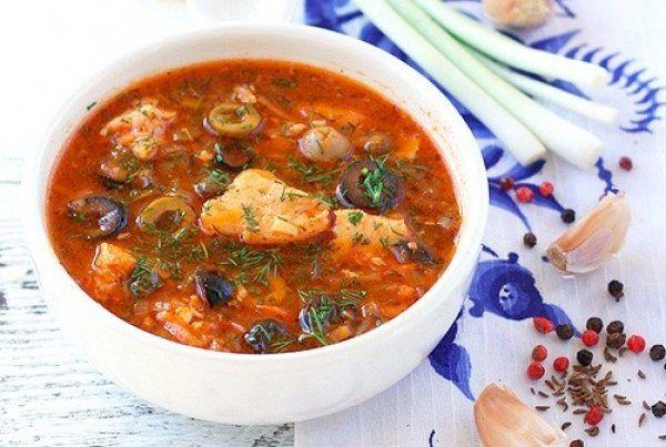 Рыбная солянка без картошки | Печем и варим