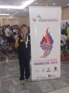 Rodrigo González de Alba, gana el oro en la Olimpiada Nacional 2016 ~ Ags Sports