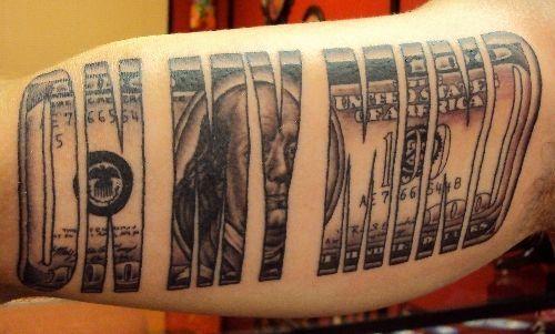 Money Tattoos for Men - Dollar Tattoo Ideas for Guys