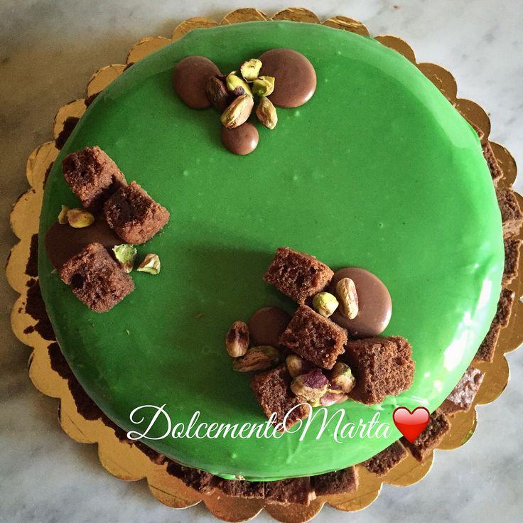 """Torta """"Diabella"""" al pistacchio (Ricetta di L.M.)"""