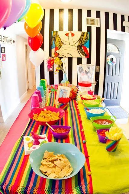 17 best images about bible theme party on pinterest for Food bar rainbow moon
