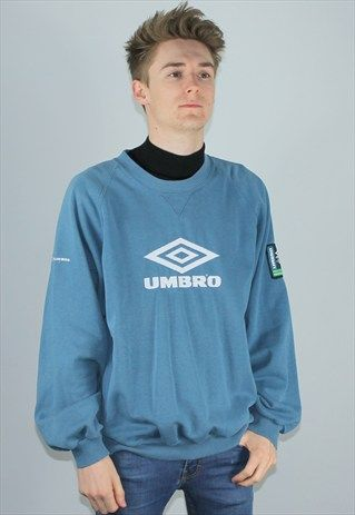 Vintage Umbro 90's Oversizeze Sweatshirt Jumper