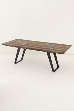 Lindo Dining Table - modern - dining tables - Anthropologie