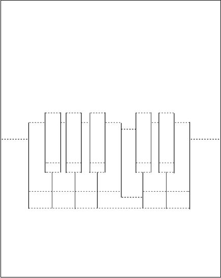Pop Up Piano Card Template
