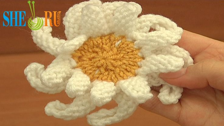 17 Best images about Knitting Flowers on Pinterest Video tutorials, Adverti...