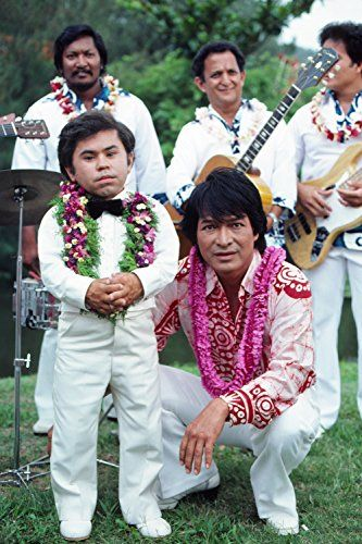 Don Ho And Hervé Villechaize In Fantasy Island 1977 Vacuum Tubes