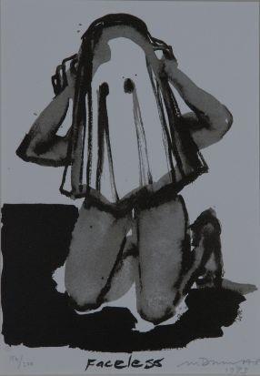 Marlene Dumas Faceless (xxx/200) 2014-06 / SW / 7.280 ZAR 2009-01 / SW / 20.160 ZAR 2008-11 / SW / 24.640 ZAR 2008-04 / SW / 30.800 ZAR