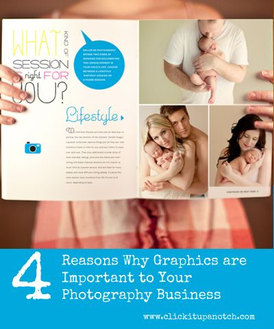 4 Reasons Why Graphics are Important to Your Photography Business