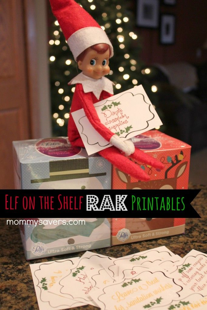 These Elf on the Shelf Printables can