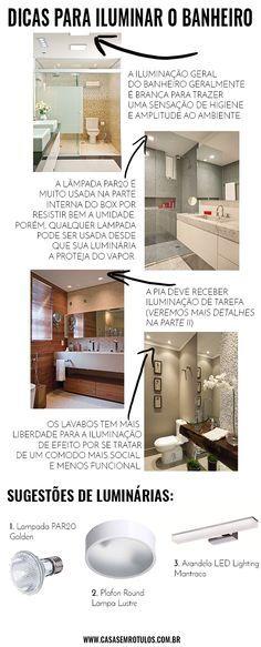 Casa Sem Rótulos, dicas de iluminação, como iluminar sua casa, iluminação geral, como iluminar sua banheiro, dicas para banheiro, iluminação banheiro