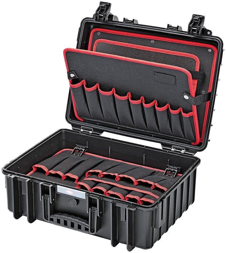 """KNIPEX 00 21 35 LE Werkzeugkoffer """"Robust"""" leer: Amazon.de: Baumarkt"""