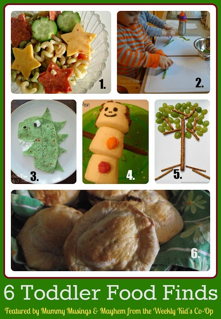 6 Fantastic Food Ideas suitable for fussy toddlers!
