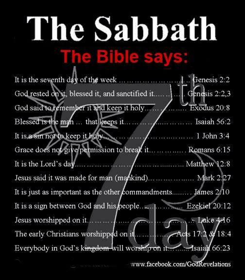 The Sabbath Proclaimed More Fully...  Exodus 20:8	Remember the sabbath day, to keep it holy.    20:9	Six days shalt thou labour, and do all thy work:    20:10	But the seventh day [is] the sabbath of the LORD thy God: [in it] thou shalt not do any work, thou, nor thy son, nor thy daughter, thy manservant, nor thy maidservant, nor thy cattle, nor thy stranger that [is] within thy gates: