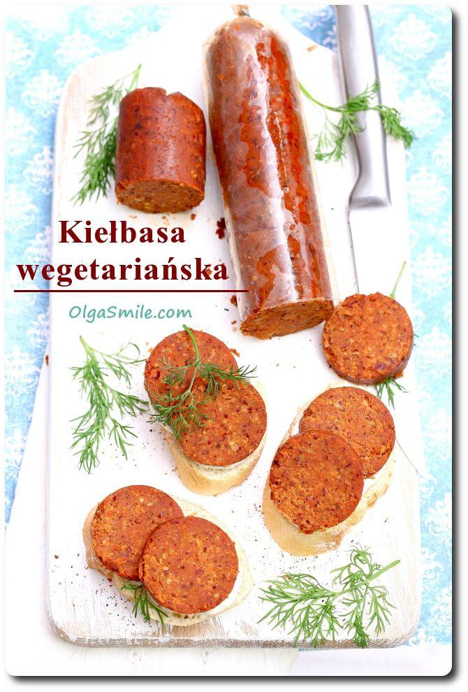 Kiełbasa wegetariańska