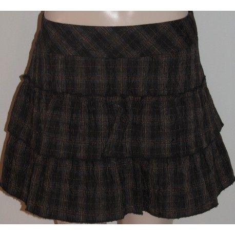 Next dámská sukně tmavě hnědá