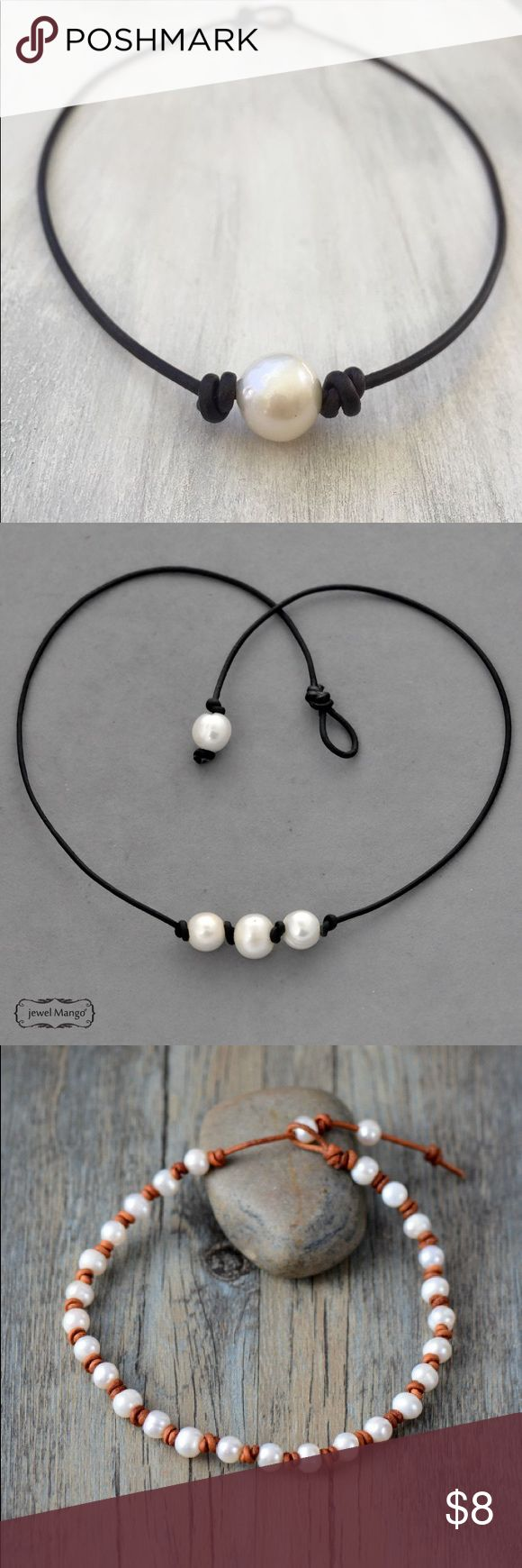 pearl necklaces/chokers super cute Jewelry Necklaces