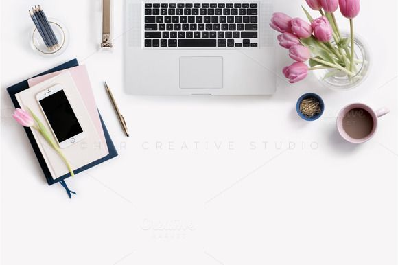 Styled Stock Photography | Desktop by Her Creative Studio on @creativemarket