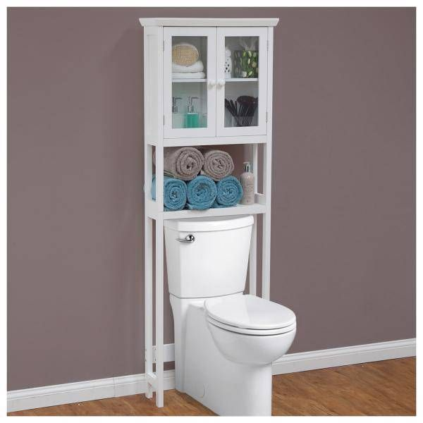 Bathroom Cabinets Over Toilet Storage | Details about NEW ~ OVER THE TOILET  BATHROOM STORAGE CABINET - Best 10+ Bathroom Cabinets Over Toilet Ideas On Pinterest Toilet