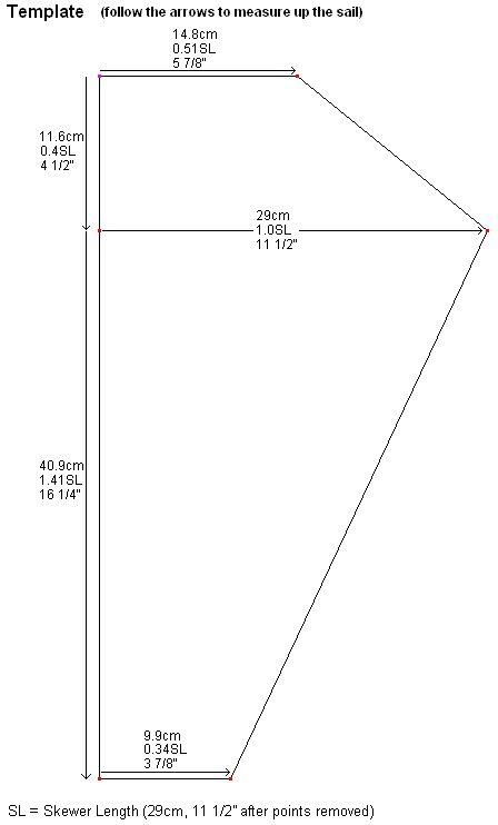 How To Build A Barn Door Kite - Instructions For The MBK 2-Skewer Barn Door.