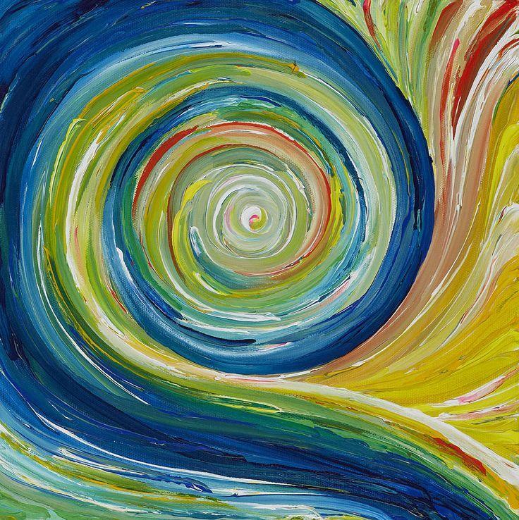 Rhythm A design principle that the visual