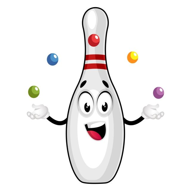 Bowling Pin Juggling Illustration Vector On White Background Bowling Vector Pin Png And Vector With Transparent Background For Free Download In 2020 Bowling Beer Illustration Illustration