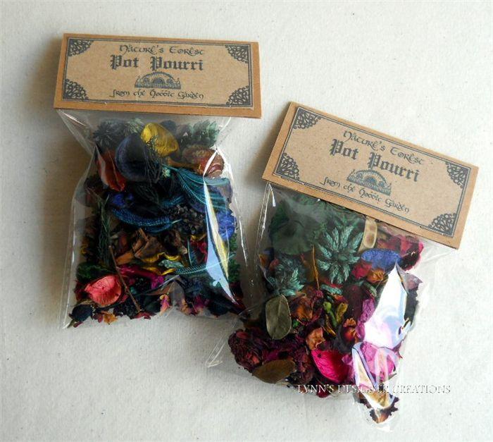 Hobbit Nature's Forest Pot Pourri Packs