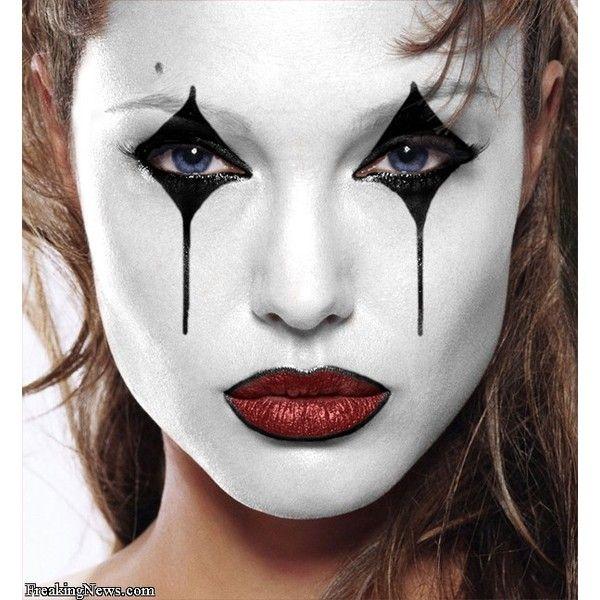 Perfect mime makeup